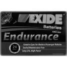 Exide endurance batteries