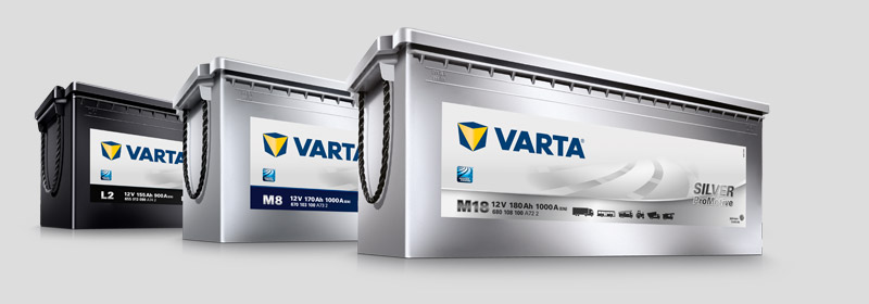 Varta Truck and Commercial Vehicle Batteries