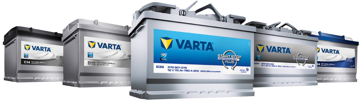 varta automotive battery